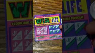 Win for life $2 Scratch offs NY lottery