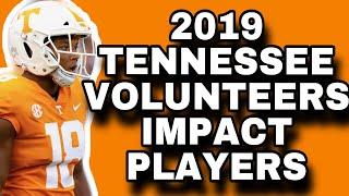 2019 TENNESSEE VOLUNTEERS Impact Players   TENNESSEE VOLUNTEERS FOOTBALL