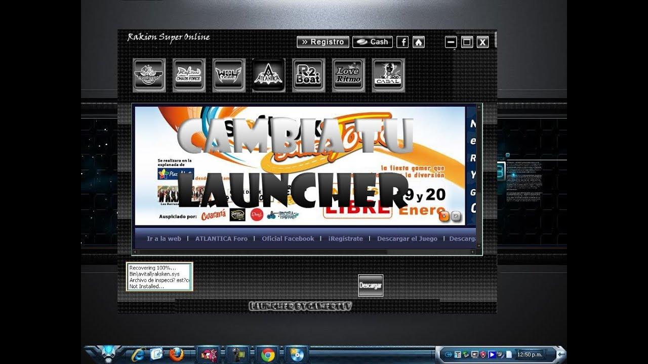 launcher atlantica softnyx