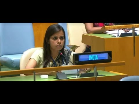 India's response to Pakistan PM's speech at the General Debate in United Nations General Assembly