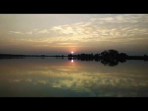 Amazing Sunset in Karnataka, India