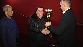 Награждение президента федерации кикбоксинга ДНР