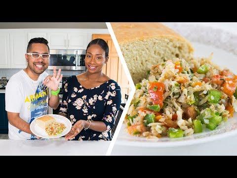 How To Make Saltfish Buljol | Foodie Nation