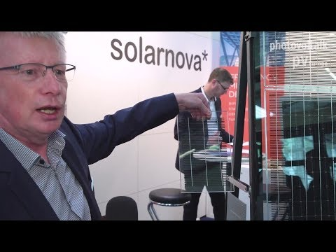 Solarnova presents a wide range for building-integrated photovoltaic solutions