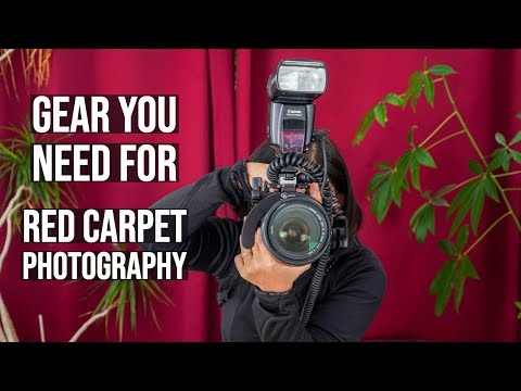 Best Camera Flash Equipment For Red Carpet Event Photography