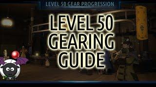 Level 50 Gearing Guide/Progression Final Fantasy XIV A Realm Reborn