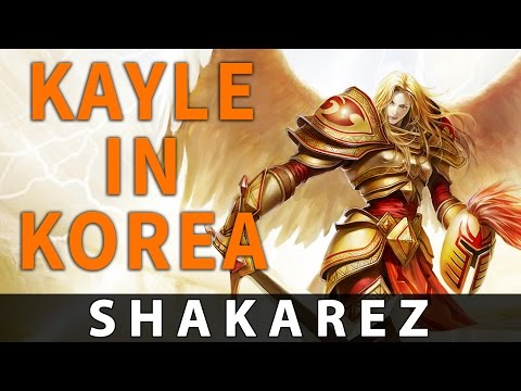 How Kayle Is Played In High Elo Korean Ranked Games Leagueoflegends