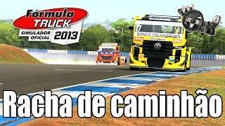Formula Truck 2013 - Racha de caminhão em LONDRINA ft. ZoiooGamer (G27 mod)