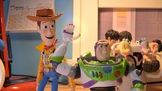 Iron man and Toy story stop motion   The Rematch