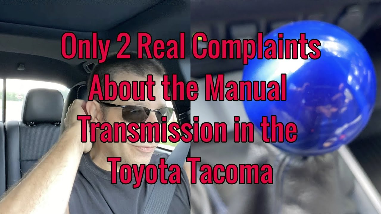 Toyota Tacoma 2020 Manual Transmission Only 2 Real Manual Guide