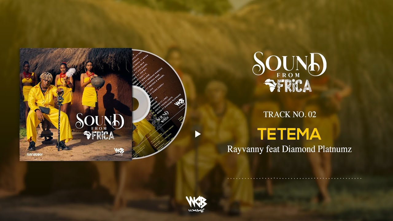 Rayvanny Ft Diamond Platnumz - Tetema (Official Audio) Sms SKIZA 8545047 to 811