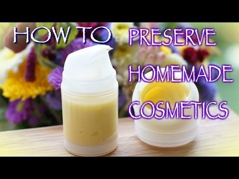 How to Preserve Your Homemade Cosmetics, Home Remedies + Giveaway Pre-Announcement