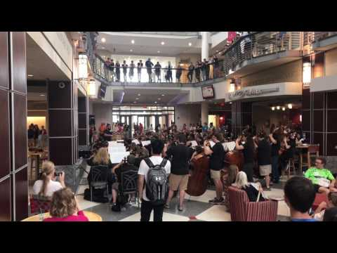 Orchestra plays Love Yourself by Justin Bieber at Ohio State University