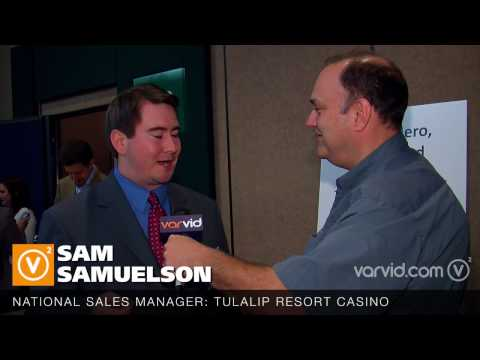 Tulalip Resort Casino Sales Manager Sam Samuelson At The MPIWSC 8th Annual Meetings Industry Summit