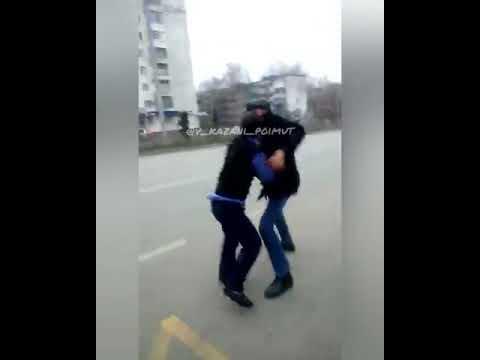 Драка пассажира и кондуктора в Казани