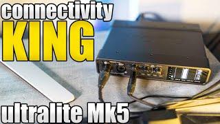THE LAST AUDIO INTERFACE YOU'LL EVER NEED | MOTU ULTRALITE MK5