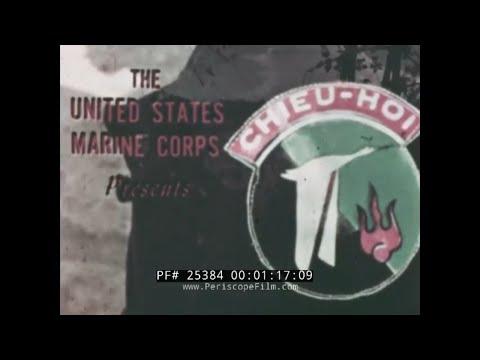 U.S. MARINE CORPS  CHIEU HOI PROGRAM   VIETNAM WAR 25384