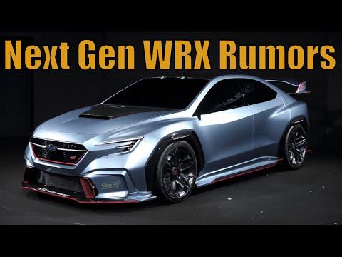 NEW Next Gen WRX/STI Rumors!