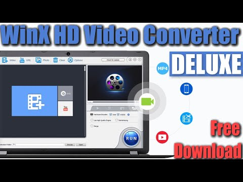 WinX Video Converter  Convert MP4 MP3 & 200+ Formats  Download it For Free!!