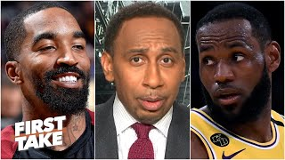 Stephen A.'s Thoughts On Jr Smith Reuniting With Lebron On The Lakers | First Take