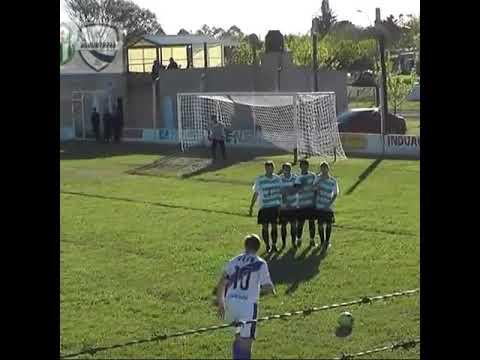 Gol de Brian Duarte. Cultural Aranguren 0 Martín Fierro 1
