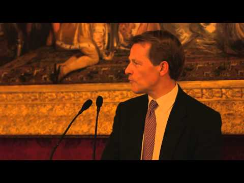 David Laws speaks at networking event for Talented Leaders