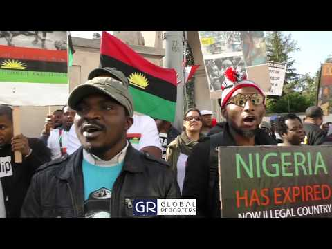 No Referendum No Election: We Are Not A Terrorist Group - IPOB, Austria