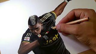 Drawing Paul Pogba - DAB