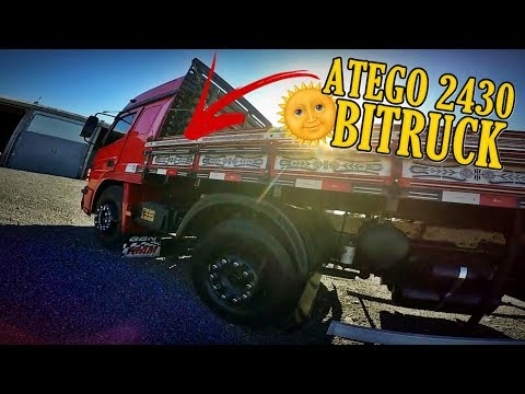 ATEGO 2430 NO BITRUCK - CANAL OFF7 - YouTube