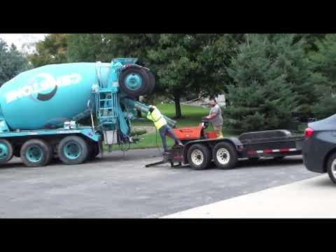 Pool Installation Steel Pool time lapse