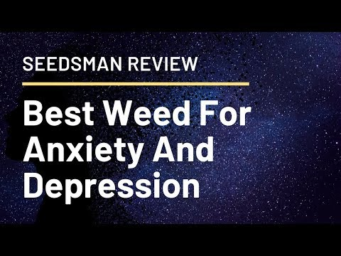 Best Weed For Anxiety And Depression - Seedsman Reviews