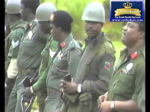 1984 Nigerian Military weapons Meeting - Nigerian News of the 80s