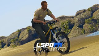 LSPDFR - On Patrol - Day 7 - Bicycle Patrol