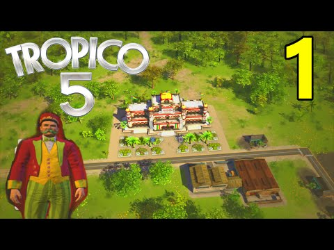 Tropico 5 Let's Play (PS4) Episode 1 | Meet Alejandro!
