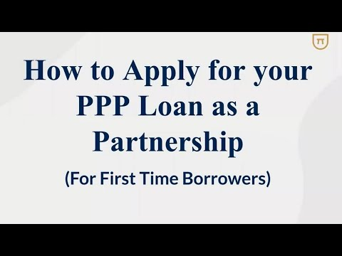 How To Apply For Your PPP Loan As A Partnership