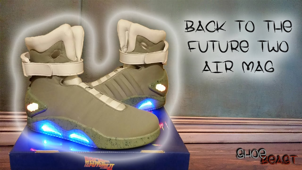 Universal Back To The Future 2 Air Mag Costume Review On Foot