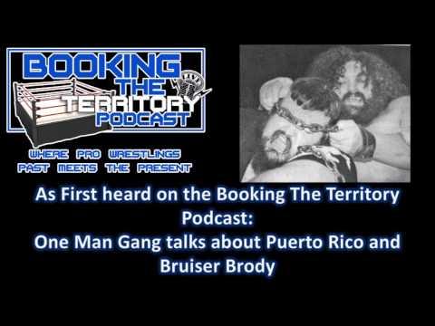 One Man Gang Talks Puerto Rico and Bruiser Brody