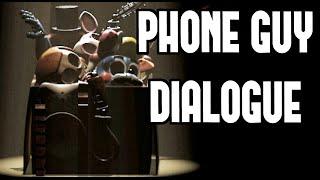 FNAF 3 - Five Nights at Freddy's 3 - ALL PHONE CALLS - Subtitles