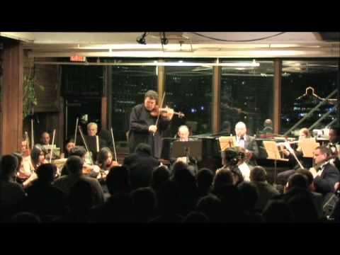 Sarasate's Introduction and Tarantella, Op. 43, by Mark Peskanov, violin.