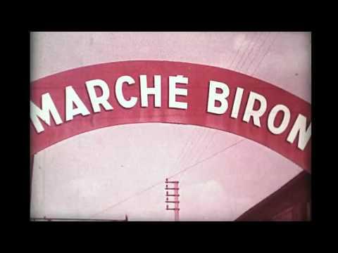 Marché Biron Paris 1960's