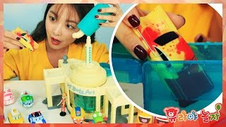[유라] 장난감(toy)_디즈니 컬러 체인지 카 색 변하는 자동차 뽀로로 폴리 라바 ramones color change car pororo poli