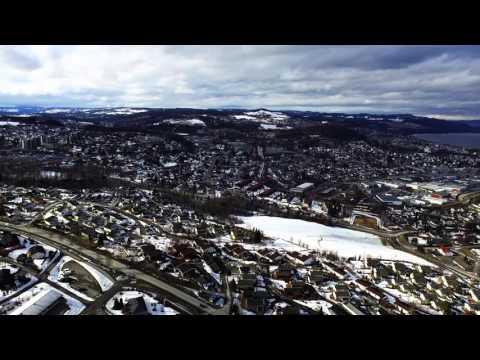 Gjøvik - Kort drone-film