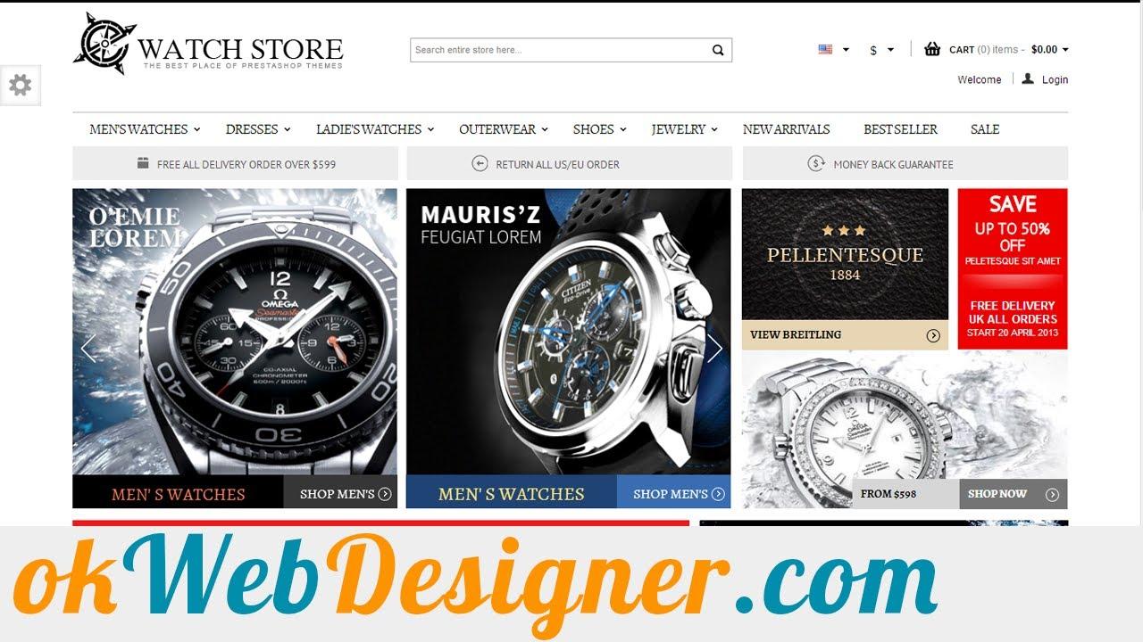 vari stili vari colori comprare a buon mercato Sito Ecommerce per Vendere Orologi| Vendere orologi Negozio Online ...