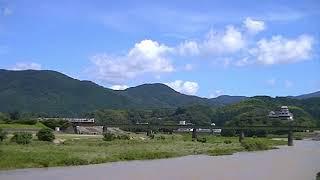 20210719 JR四国 大洲 肱川橋梁 予讃線 宇和海17号 アンパンマン列車 B