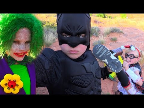 Batman vs The Joker!  Ninja Kidz tv