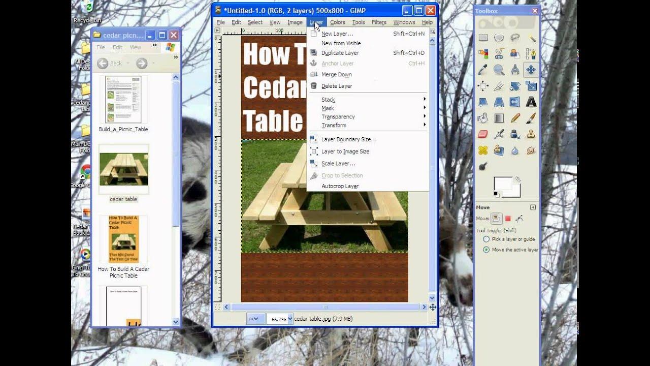 Book Cover Design Gimp : Gimp tutorial to create kindle e book cover youtube