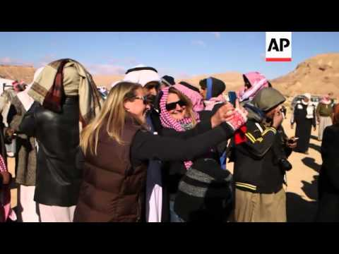 Bedouin tribes battle it out in annual South Sinai camel race