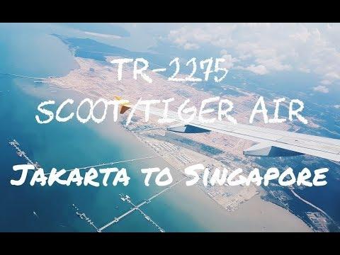 My Flight Experience #6 | Scoot  aka Tiger Air - Jakarta (CGK) to Singapore (SIN) TR-2275