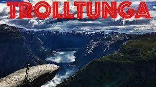 Norway Trolltunga -  Норвегия  Язык Тролля