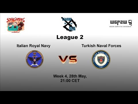 World of Warships - League of the Sea - Italian Royal Navy vs Turkish Naval Forces